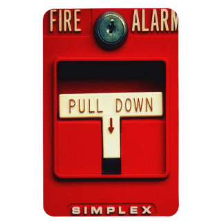 Alarma de incendio iman flexible