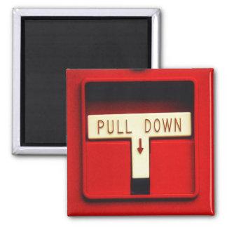 Alarma de incendio imán cuadrado