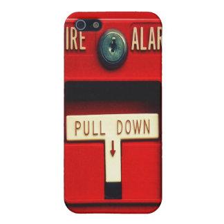Alarma de incendio iPhone 5 funda
