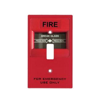 Alarma de incendio placa para interruptor