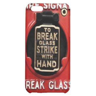 Alarma de incendio - vidrio de la rotura