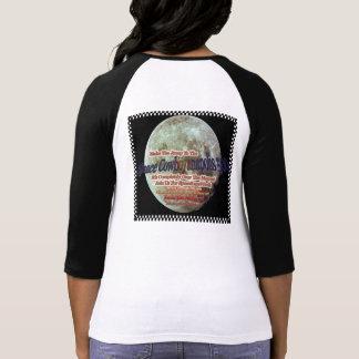 ¡Alarma de la mujer de Cowboyanapolis 500-Moon del Camiseta