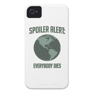 Alarma del alerón de la tierra: Todos muere iPhone 4 Protector