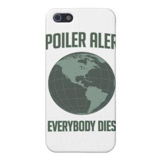 Alarma del alerón de la tierra: Todos muere iPhone 5 Carcasa