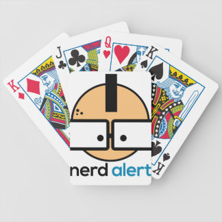 Alarma del empollón baraja de cartas