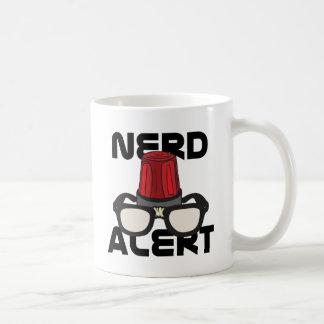 ¡Alarma del empollón! Tazas De Café