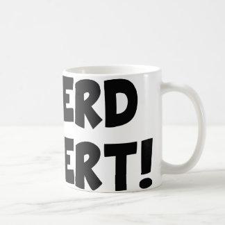 ¡Alarma del empollón! Taza De Café