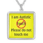Alarma del médico del autismo ningún tacto pendientes