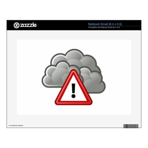 Alarma del tiempo severo skins para netbooks