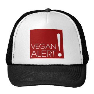 Alarma del vegano gorra