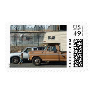 Alarma para coches sello postal