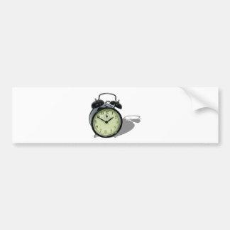 AlarmClock041109shadows Pegatina Para Auto