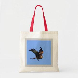 Alarmed Red Kite Tote Bag