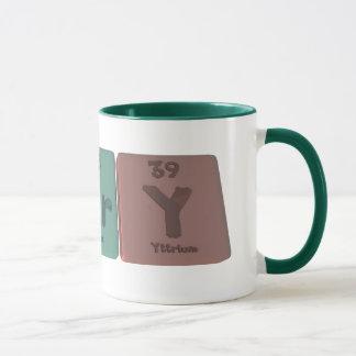 Alary-Al-Ar-Y-Aluminium-Argon-Yttrium Mug