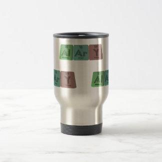 Alary-Al-Ar-Y-Aluminium-Argon-Yttrium Travel Mug