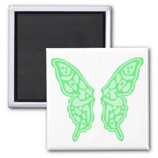 Alas 3 de la mariposa imán