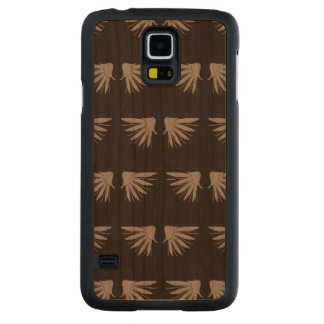 Alas Black.ai gris Funda De Galaxy S5 Slim Cerezo