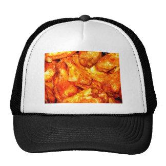 Alas calientes picantes gorras