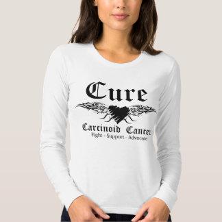 Alas carcinoides de CancerTattoo de la curación Polera
