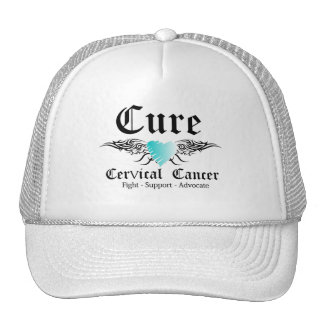Alas cervicales de CancerTattoo de la curación Gorro