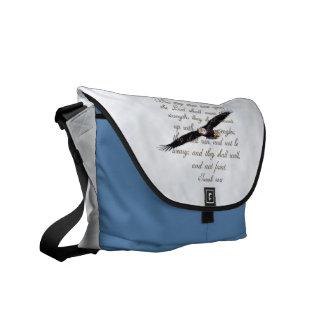 Alas como bolsa de mensajero cristiana de la bibli bolsas messenger