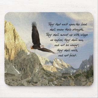 Alas como Eagles Isaías 4o: 31 Tapetes De Ratones