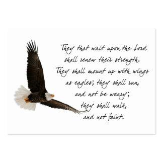 Alas como Eagles Isaías 4o: 31 Tarjetas De Visita