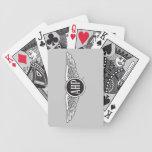 Alas de AHP - B&W Baraja Cartas De Poker