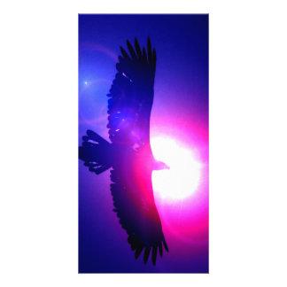 Alas de Eagle - Eagle en vuelo Tarjetas Personales Con Fotos