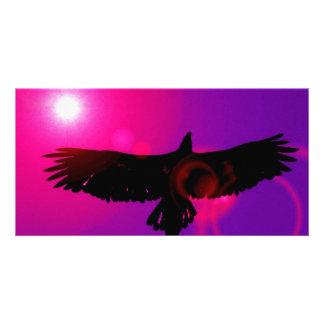 Alas de Eagle Tarjetas Fotográficas