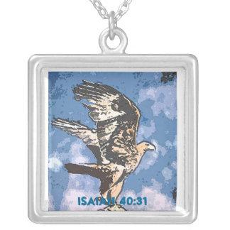 Alas de Eagles - 40:31 de Isaías Colgante Cuadrado