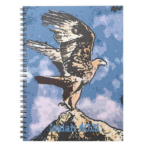 Alas de Eagles - 40:31 de Isaías Libros De Apuntes