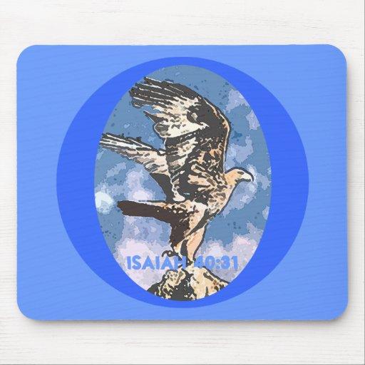 Alas de Eagles - 40:31 de Isaías Alfombrilla De Ratón