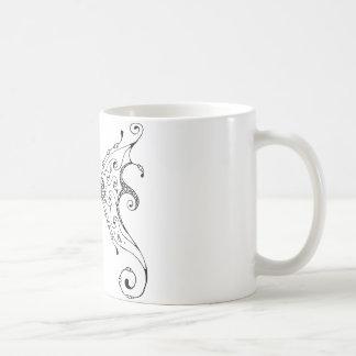 Alas de hadas taza básica blanca