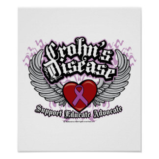Alas de la enfermedad de Crohn Poster
