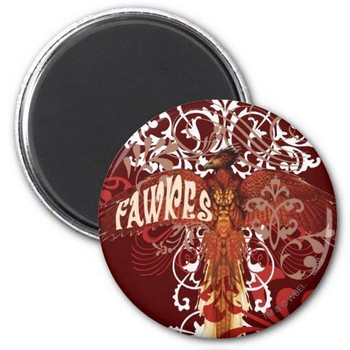 Alas de la extensión de Fawkes Imán Redondo 5 Cm