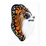 Alas de la fantasía de Papillon Tarjeta Postal