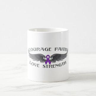 Alas de la fe del valor de la enfermedad de Crohns Tazas De Café