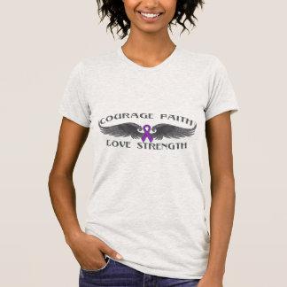 Alas de la fe del valor de la sarcoidosis camisetas