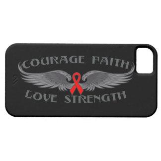 Alas de la fe del valor del VIH del SIDA iPhone 5 Cobertura