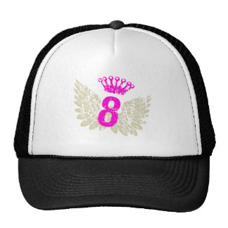 Alas de la frambuesa #8 gorras