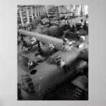 Alas de la guerra: Los años 40 tempranos Impresiones