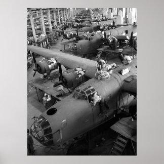 Alas de la guerra Los años 40 tempranos Impresiones