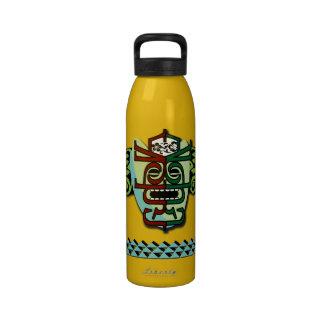 Alas de la hawaiana botella de beber