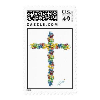 Alas de la libertad - St cruzado del franqueo de l