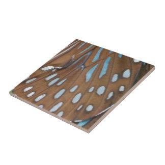 Alas de la mariposa azulejo ceramica