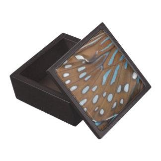 Alas de la mariposa caja de joyas de calidad