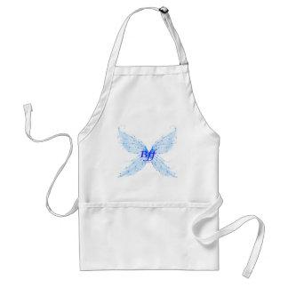 alas de la mariposa delantal