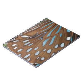 Alas de la mariposa libros de apuntes con espiral