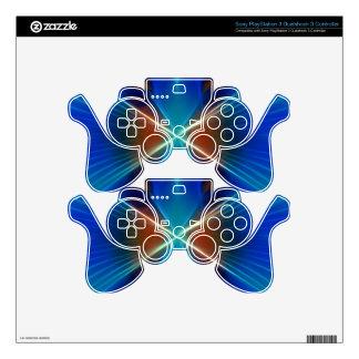 Alas de la mariposa mando PS3 calcomanía